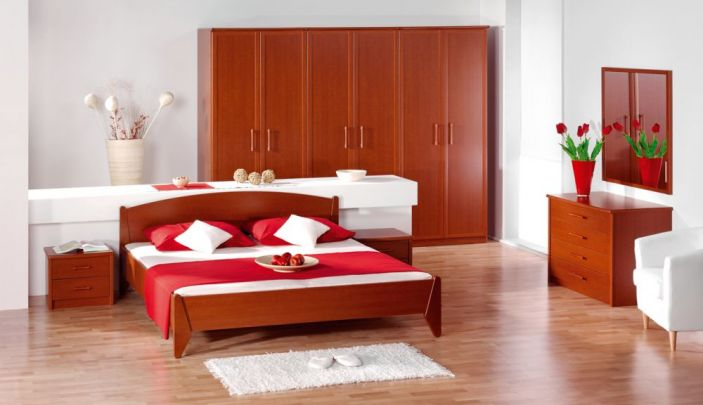 Moderne spalnice